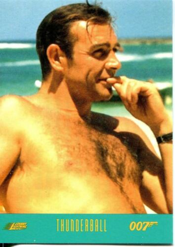 James Bond Johnny Lightning Cars Exclusive Trading Card #63 Thunderball