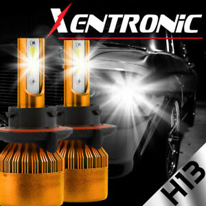 XENTRONIC LED HID Headlight kit H13 9008 White 2016-2016 Chevrolet Cruze Limited