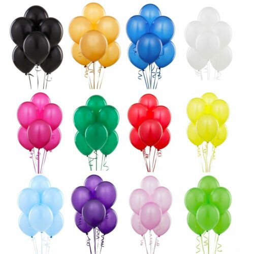 20 Globos Látex Llano Globos Ballons Helio Globos Globos Globo balones