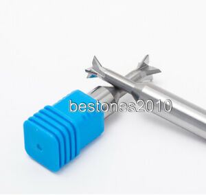 Solid Carbide Dovetail Milling Cutter End Mill Dia 5mm 60 Degree Dovetail Cutter