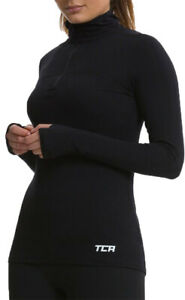 TCA-Fusion-QuickDry-Womens-Thermal-Long-Sleeve-Running-Top-Black