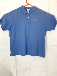 Details Mens Blue 7 Size About Lacoste Polo nP80wOkX