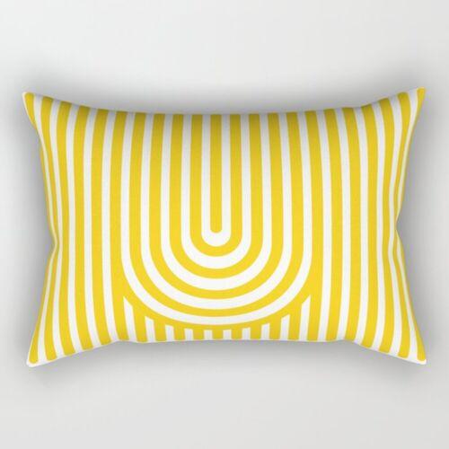 18/'/' Nordic Yellow Pillow Cases Polyester Throw Cushion Cover Sofa Home Decor
