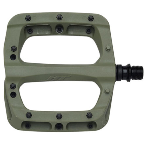 HT Pedals PA03A Platform Pedals Olive CrMo