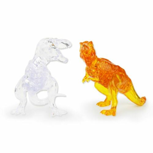 50pcs//set 3D Crystal Puzzle Dinosaur Building Blocks DIY Child Educational Toys