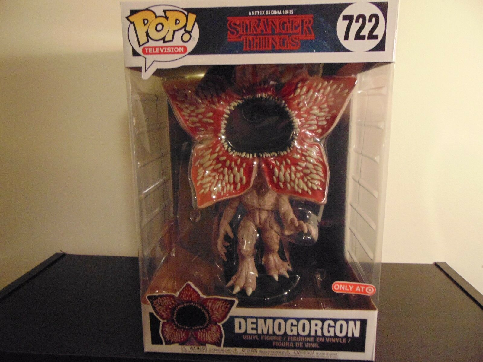 Funko Pop Stranger Things 10 inch Demogorgon Target Exclusive