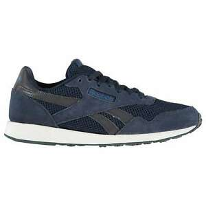 Homme-REEBOK-ROYAL-Ultra-Baskets-en-Daim-a-Lacets-Neuf