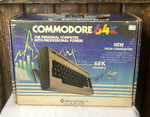 COMMODORE 64 PERSONAL COMPUTER In Original Box UNTESTED AS-IS