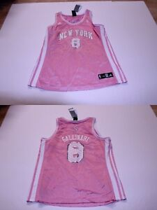 reputable site 135c5 4ee46 Details about Women's New York Knicks Danilo Gallinari XL NWT Jersey (Pink)  Adidas Jersey