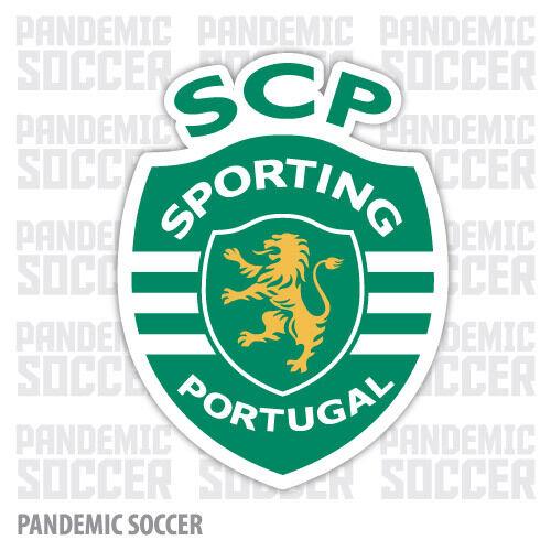 Sporting Clube Portugal Vinyl Sticker Decal Primeira Liga Football Soccer SCP