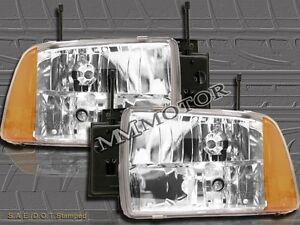 1995 1996 1997 chevy s10 blazer euro crystal headlights ebay ebay