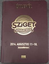 Sziget Festival Guide 2014 - Budapest 11.-18. August - Útlevél - Sammlerstück