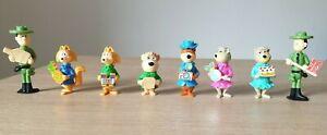 Sorpresine Kinder Ferrero Anno 1996 Yogi Bear 1 e 2 personaggi vari