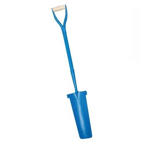 Heavy Duty Solid Forged Steel Trench Drain Shovel Spade Cable Laying