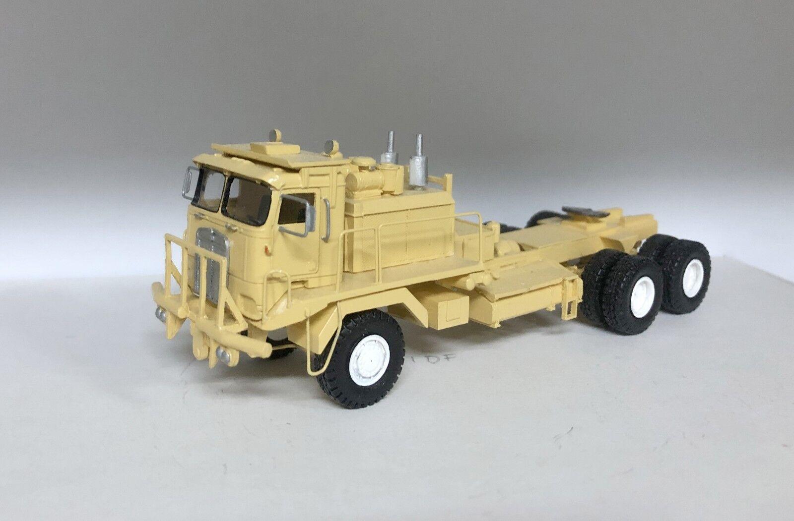 HO 1 87 KENWORTH 993 CAB sur moteur Oilfield-Desert-prêts Résine Modèle