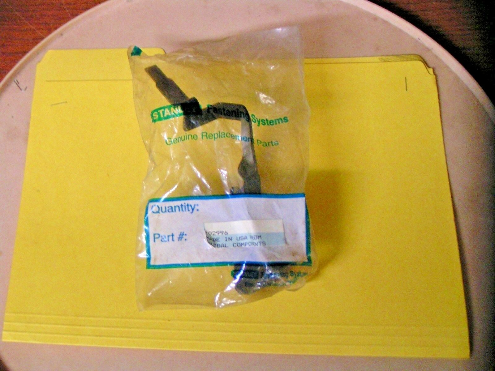 STANLEY BOSTITCH PNEUMATIC PNEUMATIC PNEUMATIC TOOL TRIP ARM - PART 102996 - NEW OEM SERVICE PART 38ad90