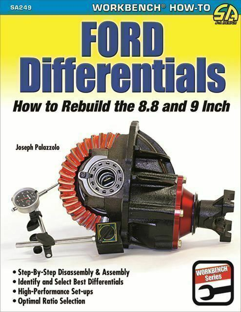 Ford Differentials How To Rebuild The 8.8 And 9 Inch Manual Book