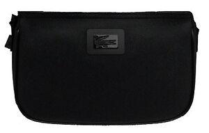 Black Borsa Zip Donna Bag A Lacoste Con Women Clutch Tracolla rQCxoedWB
