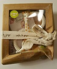 Sophie the Giraffe So'Pure Teething Ring New in Box