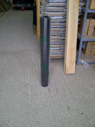 6 Inch 150mm Vitreous enamel flue pipe 1000mm length