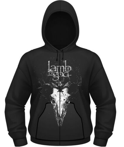 NEW /& OFFICIAL! Lamb Of God /'Candle Light/' Zip Up Hoodie