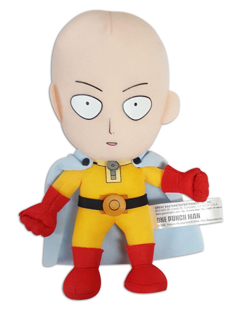 Brand New Great Eastern (GE-52218) One Punch Man 7.5  Saitama Stuffed Plush Doll