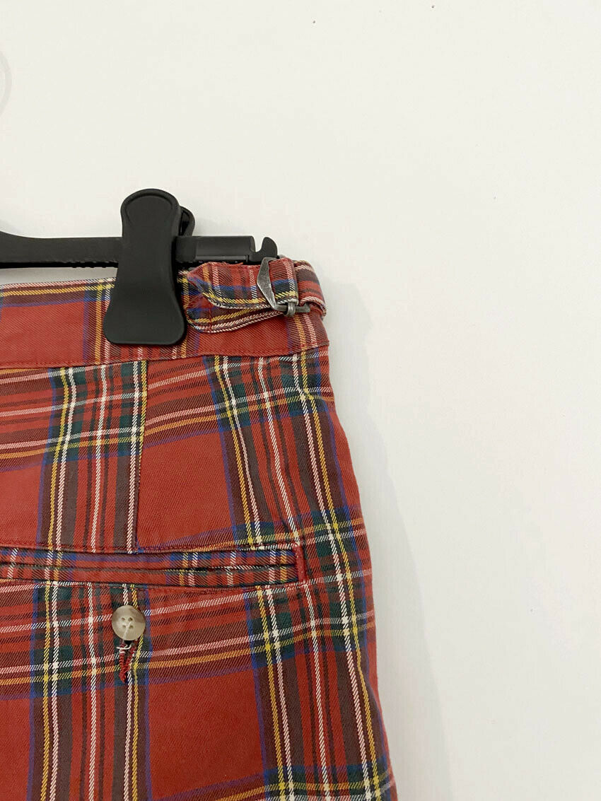 ⭕ 80s Vintage Ralph Lauren Plaid shorts : punk sh… - image 4