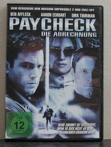 DVD Paycheck - Die Abrechnung - FSK 12