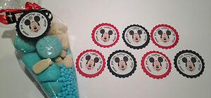 Détails Sur Mickey Mouse Minon Marvel 24 Anniversaire Thème Autocollant Tags Sweet Cônes Boîtes Afficher Le Titre Dorigine