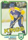 1981 Topps Larry Murphy #100 Hockey Card