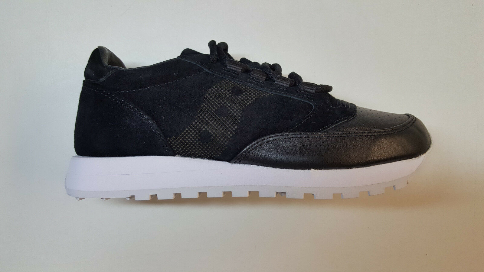SAUCONY JAZZ ORIGINAL 35TH ANNIVERSARY LUX schwarz LEATHER SUEDE MENS S70264-1