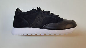 low priced 6770e da59d SAUCONY JAZZ ORIGINAL 35TH ANNIVERSARY LUX BLACK LEATHER ...