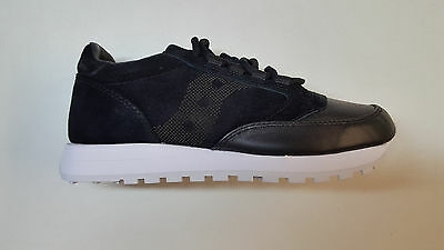 low priced 1a10e e9b2b SAUCONY JAZZ ORIGINAL 35TH ANNIVERSARY LUX BLACK LEATHER ...