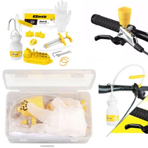 Fahrrad Bleed Kit Entlüftungsset Scheibenbremsen für Shimano Tektro Magura EZ DE
