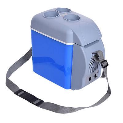 7.5L Portable Mini Car Vehicle Refrigerator Freezer Fridge Warming & Cooling