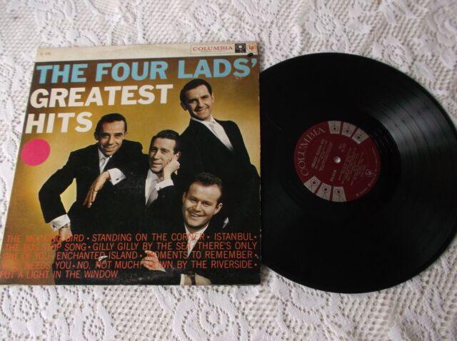 The four lads G Hits record LP Album  Canada pressing