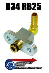 Fuel-Rail-Adaptor-for-FPR-Fuel-Pressure-Regulator-For-R34-GTT-Skyline-RB25DET