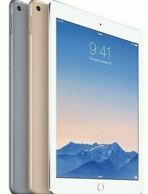 Apple iPad Air 2nd Gen 9.7in 32GB 128GB Wi-Fi Cellular Gold Silver Gray Bare