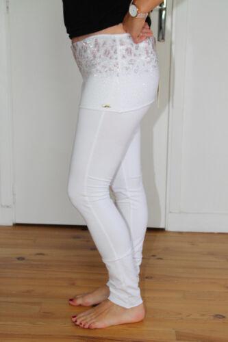 Etichetta In Elasticizzato Valore Pantaloni Eno Taglia Jeans M Bianco Met aCnTq