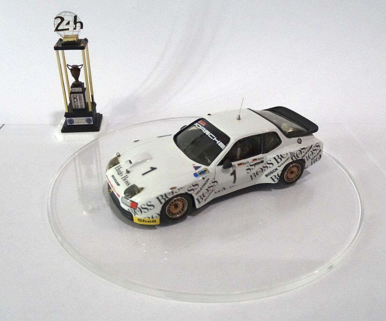 PORSCHE 924 GTP BOSS Le Mans 1981 Built Monté Kit 1 43 no spark minichamps