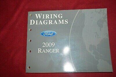 2009 Ford Ranger Dealer Wiring Diagram Manual WSVA | eBay