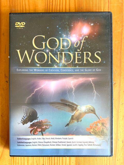 Eternal Productions GOD OF WONDERS DVD Exploring The Wonders Of Creation 2010