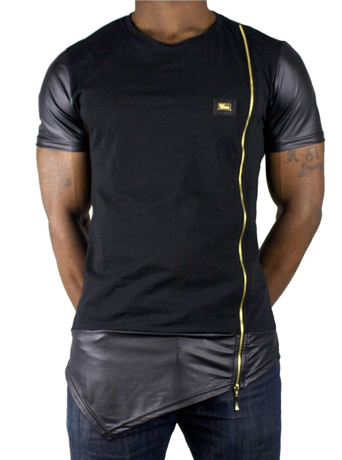 Time Is Money Reißverschluss Stern Club T-Shirts,Pu G Herren & Jungen Hip Hop   | Sonderangebot  | Haltbar  | Outlet Store Online