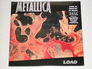 METALLICA-Load-2LP-gatefold-New-Sealed-Vinyl-2-LP-Record