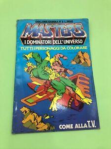 Albo-Da-Colorare-MASTERS-OF-THE-UNIVERSE-1984-EDIGAMMA-gamma-2-motu-heman-NUOVO