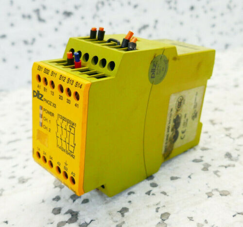 774310 PILZ PNOZ X3 24VAC 24VDC 3n//o 1n//c 1so SICHERHEITSRELAIS