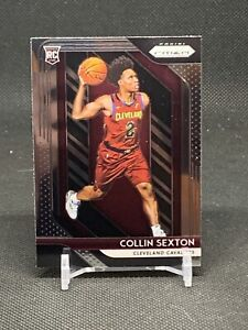 2018-2019 Panini Prizm RC #170 COLLIN SEXTON Cleveland Cavaliers Rookie Card RC