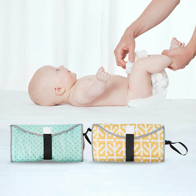 Portable Baby Foldable Waterproof Diaper Nappies Changing Mats Travel Pad #3YE