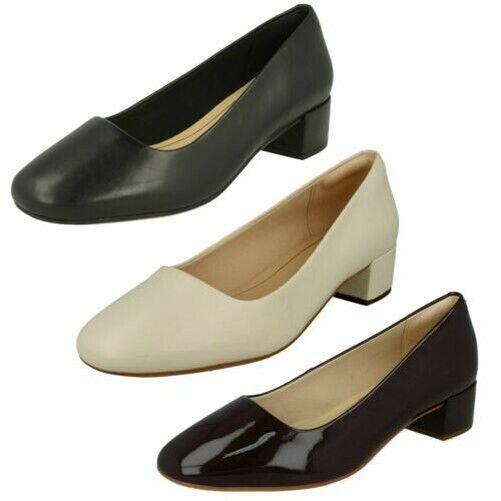 Clarks Ladies Court Shoes Kelda Gem for