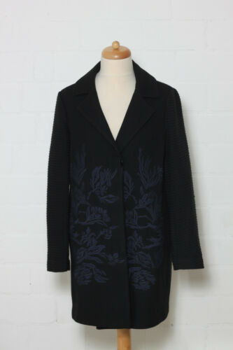 Embroidery Coat Noa L Transition Black Taglia q6nTwg